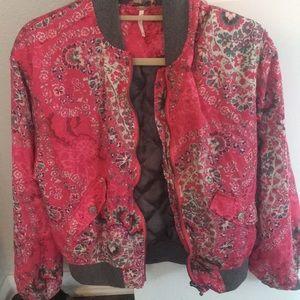 Free people floral jacket